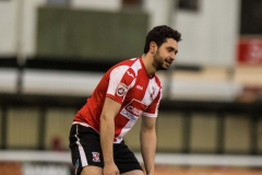 February 13 2016 - Kingfield Stadium - Woking - England - Woking Striker Giuseppe Sole (10) looks dejected after another Woking attack comes to nothing during the National League match between Woking & Guiseley.